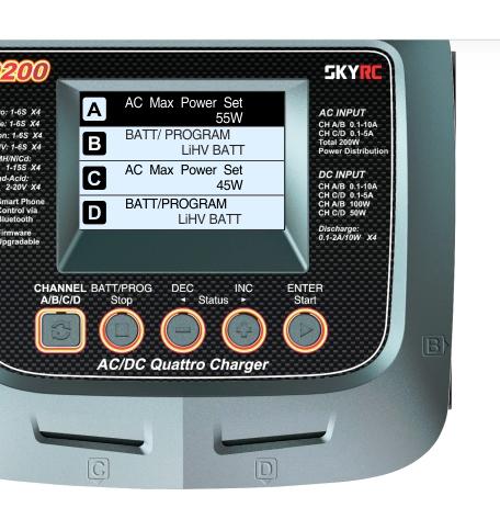 SkyRC Q200 ładowarka do akumulatorów
